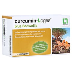 curcumin-Loges plus Boswellia 120 Stück