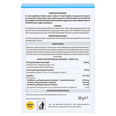NATURA Mix Advanced Stärkung Granulat 20x2.5 Gramm - Rückseite
