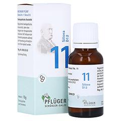 BIOCHEMIE Pflüger 11 Silicea D 12 Globuli 15 Gramm N1