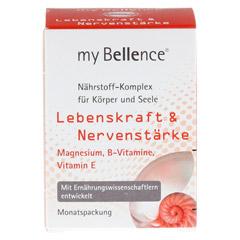 MY BELLENCE Lebenskraft&Nervenstärke Tabletten 30 Stück - Vorderseite