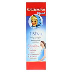 RABENHORST Rotbäckchen Mama Eisen+ Saft 450 Milliliter - Vorderseite