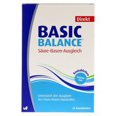 BASIC BALANCE Direkt Kautabletten 42 Stück - Vorderseite