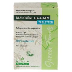 AFA ALGE 400 mg blaugrün Tabletten Blister 150 Stück - Vorderseite