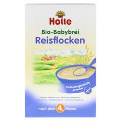 HOLLE Bio Babybrei Reisflocken 250 Gramm - Vorderseite