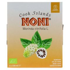 NONI Cook Islands Bio Saft 990 Milliliter - Vorderseite
