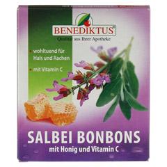 SALBEI BONBONS mit Honig und Vitamin C 50 Gramm - Vorderseite