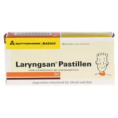 Laryngsan Pastillen 50 Stück - Vorderseite