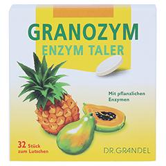 GRANOZYM Enzym Taler Grandel 32 Stück - Vorderseite