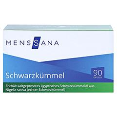 SCHWARZKÜMMEL MENSSANA Kapseln 90 Stück - Vorderseite