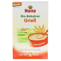 HOLLE Bio Babybrei Grieß 250 Gramm - Vorderseite