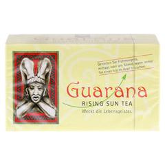GUARANA RISING Sun Tea Btl. 20 Stück - Vorderseite