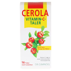CEROLA Vitamin C Taler Grandel 16 Stück - Vorderseite