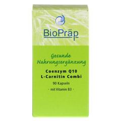 COENZYM Q10 L-Carnitin Combi 30 mg+180 mg Kapseln 90 Stück - Vorderseite