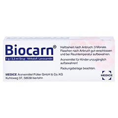 Biocarn 50 Milliliter N1 - Oberseite