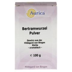 BERTRAMWURZELPULVER Aurica 100 Gramm - Vorderseite