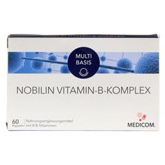 NOBILIN Vitamin B Komplex Kapseln 60 Stück - Vorderseite