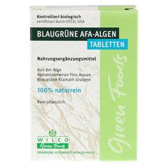 AFA ALGE 400 mg blaugrün Tabletten 60 Stück - Vorderseite