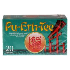 PU ERH Tee Filterbeutel 20 Stück - Vorderseite