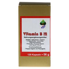 VITAMIN B12 KAPSELN 120 Stück - Vorderseite