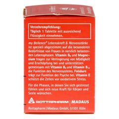 MY BELLENCE Lebenskraft&Nervenstärke Tabletten 30 Stück - Linke Seite