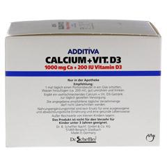 ADDITIVA Calcium 1.000 mg+Vit.D3 Pulver 40 Stück - Linke Seite