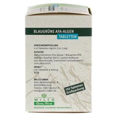 AFA ALGE 400 mg blaugrün Tabletten Blister 150 Stück - Linke Seite