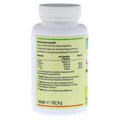 L-ARGININ 2894 mg/TG plus Vitamin C und Zink Kaps. 120 Stück - Linke Seite