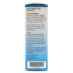 FLÜGGE Basen-Medical Plus Basen-Pulver 200 Gramm - Linke Seite