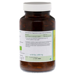 Omega-3 Perillaöl Biologische Kapseln 150 Stück - Linke Seite
