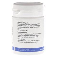 SCHWARZKÜMMELÖL Kapseln+Vitamin E 60 Stück - Linke Seite