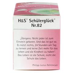 H&S Bachblüten Schülerglück-Tee Filterbeutel 20 Stück - Linke Seite