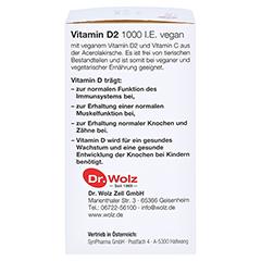 VITAMIN D2 1000 I.E. vegan Kapseln 60 Stück - Linke Seite