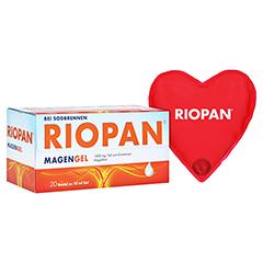 Riopan Magen Gel + gratis Riopan Wärmeherz 20x10 Milliliter N1