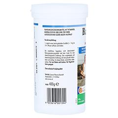 BASOVITAL forte Basenpulver 400 Gramm - Rechte Seite