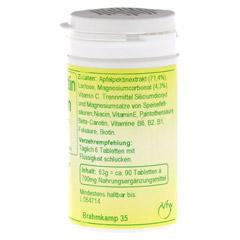 APFELPEKTIN Tabletten 90 Stück - Rechte Seite