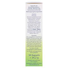 DOPPELHERZ Artischocke+Olivenöl+Curcuma Kapseln 30 Stück - Rechte Seite