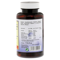 NACHTKERZENÖL KAPSELN 500 mg 180 Stück - Rechte Seite