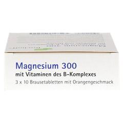 MAGNESIUM BRAUSETABLETTEN 300 30 Stück - Oberseite
