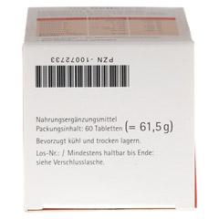 MY BELLENCE Lebenskraft&Nervenstärke Tabletten 60 Stück - Unterseite