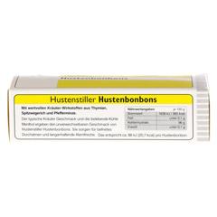 HUSTENSTILLER Hustenbonbon 16 Stück - Unterseite