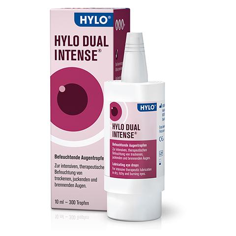 HYLO DUAL intense Augentropfen 10 Milliliter