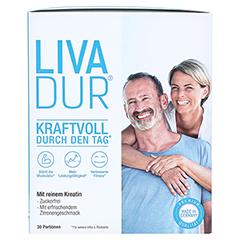 LIVADUR Kreatin Monohydrat Plv.z.Her.e.Lsg.z.Einn. 135 Gramm - Vorderseite