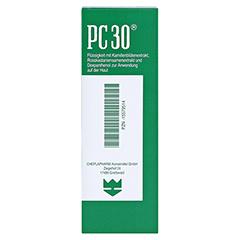 PC 30 flüssig 100 Milliliter - Rückseite