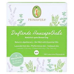 PRIMAVERA Set Duftende Hausapotheke ätherisches Öl 1 Packung - Vorderseite