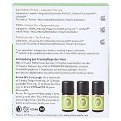 PRIMAVERA Set Duftende Hausapotheke ätherisches Öl 1 Packung - Rückseite