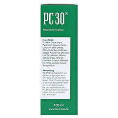 PC 30 flüssig 100 Milliliter - Linke Seite