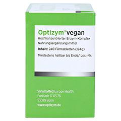 OPTIZYM vegan Filmtabletten 240 Stück - Linke Seite