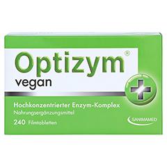 OPTIZYM vegan Filmtabletten 240 Stück - Vorderseite