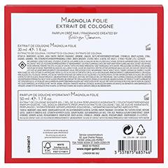 Roger & Gallet Magnolia Geschenkset 1 Packung - Rückseite