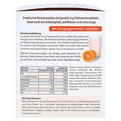 FLOHSAMENSCHALEN indisch Sticks Orange 90 Stück - Linke Seite